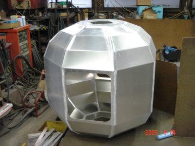 アルミ八角形箱体
