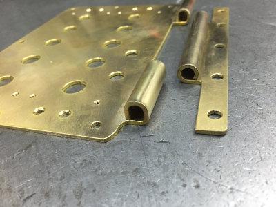 真鍮のプレート(下)